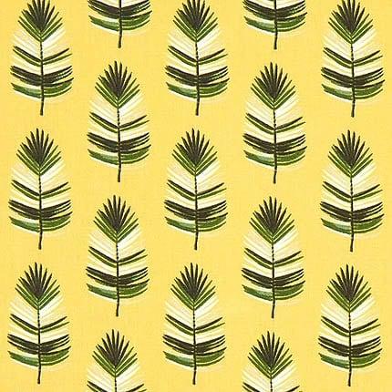 gelb Federn – 100% Baumwolle