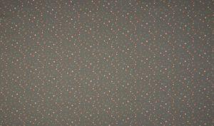 Grey floral dots – Jersey – Oeketex, 95% Baumwolle, 5% Elasthan