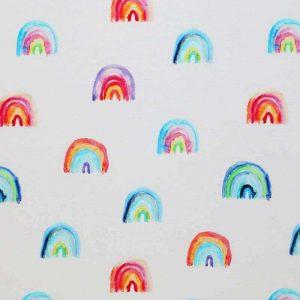 Rainbow – Jersey – Oeketex, 95% Baumwolle, 5% Elasthan