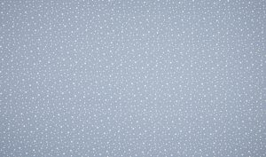 blau dashed dots mini – 100% Baumwolle