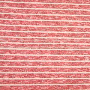 coral stripe – 100% Baumwolle