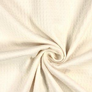 ecru Waffel – 100% Baumwolle