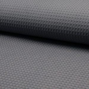 grau Waffel – 100% Baumwolle