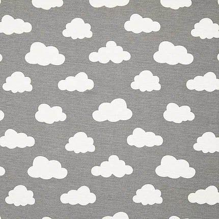 grau Wolke – 70% Baumwolle, 30% Polyester