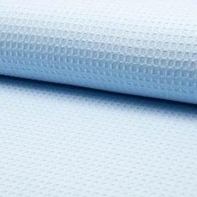 hellblau Waffel – 100% Baumwolle