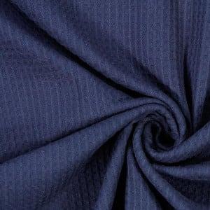 marine Waffel – 100% Baumwolle