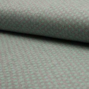 mint rib dots – Jersey – Oeketex, 95% Baumwolle, 5% Elasthan
