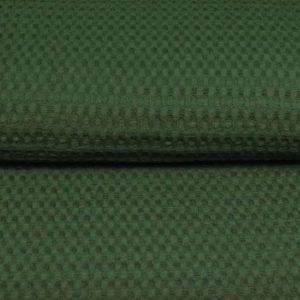 smaragdgrün Waffel – 100% Baumwolle
