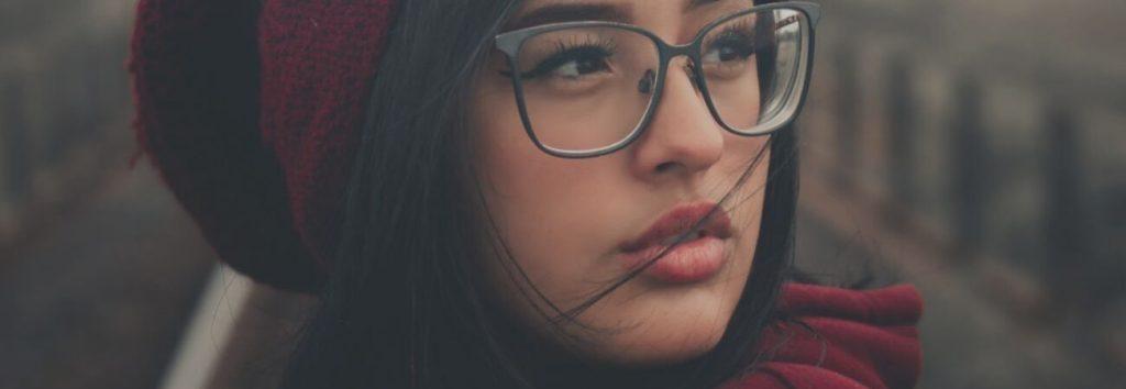 Modische Brillen
