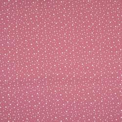 altrosa dashed dots mini – 100% Baumwolle