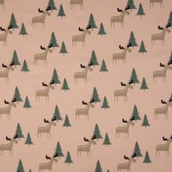 deer rosa – 100% Baumwolle