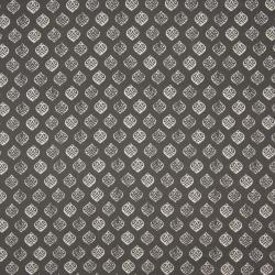 grau Blatt – 100% Baumwolle