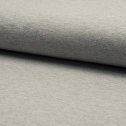 grau meliert terry – French terry – Oeketex, 96% Baumwolle, 4% Elasthan